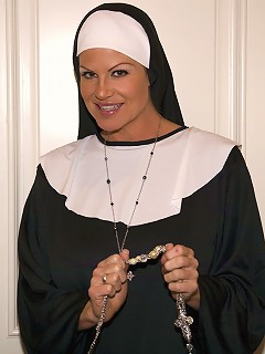 Kelly the nun takes father Ryans virginity.